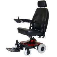 Shoprider Jimmie Portable Electric Power Wheelchair - With Captain Seat