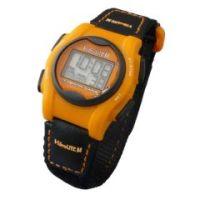 Global VibraLITE MINI Vibrating Watch with Orange/Black Band - Global VibraLITE MINI Vibrating Watch with Orange/Black Band