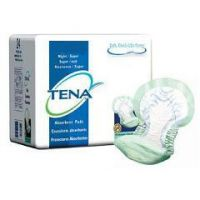 TENA Night Super Pads - Heavy Absorbency, Maximum Absorbency, Non-adhesive - Case of 48