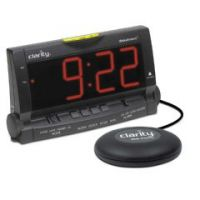 Wake Assure Vibrating Alarm Clock by Clarity - Wake Assure Vibrating Alarm Clock by Clarity