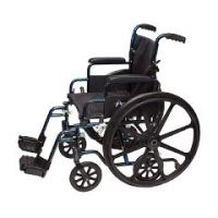 "ProBasics Transformer Wheelchair - Lightweight or Transport Chair - 18""x16"""