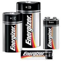 Energizer Alkaline Battery - Size AA - Pack of 4