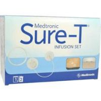"""Sure-T Insulin Infusion Set - Needle Length 6 mm Tubing Length 23"""" (58 cm) - Box of 10"""