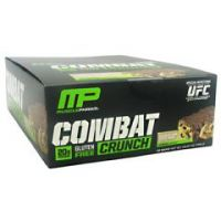 Muscle Pharm Hybrid Series Combat Crunch - Chocolate Chip Cookie Dough - Pack of 12