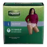 Depend Fit-Flex Max Protective Underwear for Women