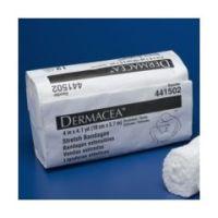 "Dermacea Stretch Bandage - 4"" x 4 yd - Pack of 12"