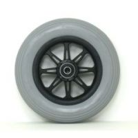 """6"""" X 1 1/4"""" JAZZY Front Caster Wheels With tire and Bearings - 1 pair"""
