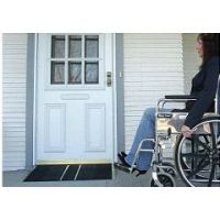 """Self Supporting Threshold Ramps - Wheelchair Ramp 3"""" Rise - 24"""" x 36"""" - 3"""" Rise"""