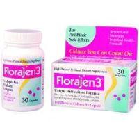 Florajen3 Probiotic Dietary Supplement - Bottle of 1