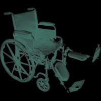 ProBasics Economy K1 Wheelchair with Elevating Legrests