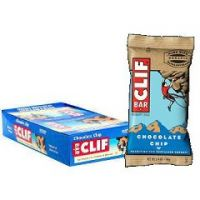 Clif Bar Natural Energy Bar - Chocolate Chip - Box of 12