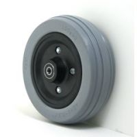 """6"""" x 2"""" Caster Wheels With Urethane Tires and B10 Bearings Pair - 1 pair"""