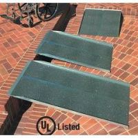 Solid Ramp Aluminum Wheelchairs and Scooter Ramp