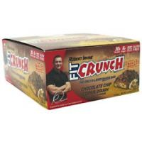 Fit Crunch Bars Fit Crunch Bar - Chcolate Chip Cookie Dough - Pack of 12