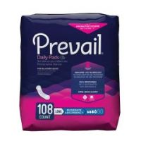 Prevail Daily Pads Adult Disposable Moderate-Absorbent Bladder Control Pad, 11 Inch Length