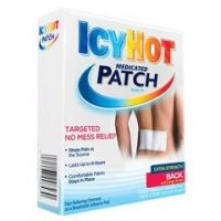 Icy Hot Topical Analgesic Patch - Extra Strength Back and Large Areas - Box of 5