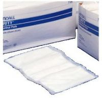 """CURITY Abdominal Pads - 7 1/2"""" x 8"""", Sterile"""