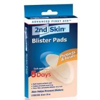2nd Skin Blister Pads - Box of 5