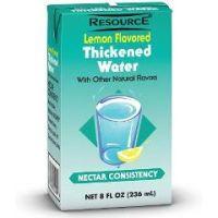RESOURCE® THICKENED WATER - Lemon, Honey Consistency - Lemon, Honey Consistency - Case of 27