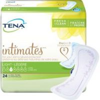 TENA Intimates Ultra Thin Adult Disposable Light-Absorbent Bladder Control Pad, 10 Inch Length