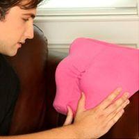Breast Friend Pillow  - Black
