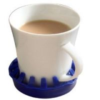 """Dycem Non-Slip Molded Cup/Can/Glass Holder (3-1/2"""" Diameter)"""