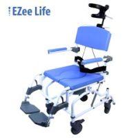 Healthline 195 Aluminum Shower Commode Chair - Tilt