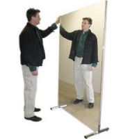 Glassless Mirror, Stationary With Stand
