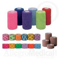 """CoFlex NL Cohesive Flexible Bandages - 1""""W"""