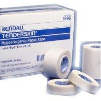 "TENDERSKIN Hypoallergenic Paper Tape - 3"" x 10 yd"