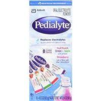 Pedialyte Powder - Pack 4 Flavor Variety, 0.3 oz. - Case of 64