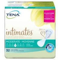 TENA Intimates Moderate Adult Disposable Moderate-Absorbent Bladder Control Pad, 13 Inch Length