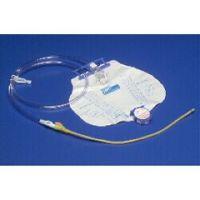 Curity DOVER 100% Silicone Foley Tray w/MONO-FLO Anti-Reflux Device, SPLASHGUARD II Drain Spout