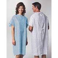 Patient Gown - Straight Back w/ Demure Print - Dozen
