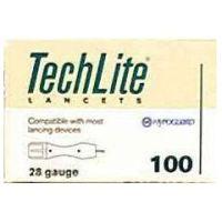 Techlite Lancet - 28 Gauge  - Box of 100