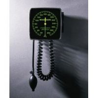 McKesson Wall Mount Aneroid Sphygmomanometer - Black Adult - Box of 1