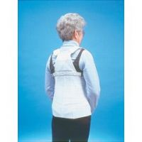 Lumbar and Thoracic Back Support - For Osteoporosis or Arthritis