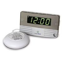 Travel Size / Bedside Sonic Boom Alarm Clock - with Bed Shaker  - Each