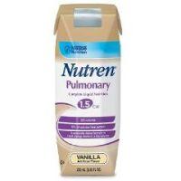 NUTREN® PULMONARY 250ml - Vanilla - Tetra Prismas® 275 / 250 ml - Case of 24