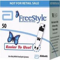 FreeStyle Blood Glucose Test Strips - Box of 50