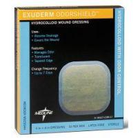 "Exuderm Odorshield Hydrocolloid - 4"" X 4"" - Box of 10"