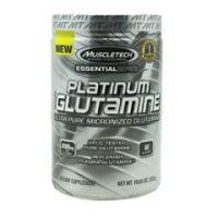 MuscleTech Essential Series 100% Platinum Glutamine - Unflavored - Bottle of 60