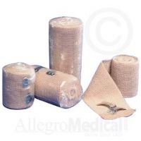 """TENSOR Elastic Bandage w/Removable Clips - 6"""" wide"""