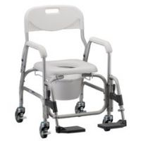 Deluxe Shower Chair Commode - Each