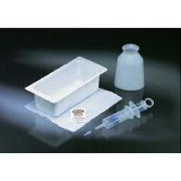 Bard Piston Syringe Irrigation Tray - 70cc Piston Syringe - Basin with CSR Overwrap