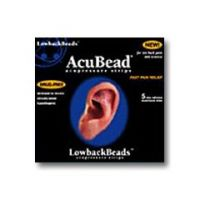 AcuBead LowbackBeads - Acupressure Strips  - Pack of 5