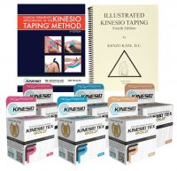 Kinesio Taping Starter Kit with Tex Gold FP Tape Rolls
