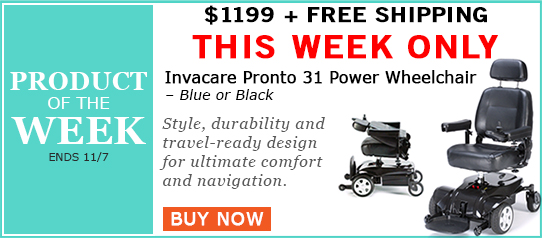 Invacare Pronto 31 Power Wheelchair On Sale this Week